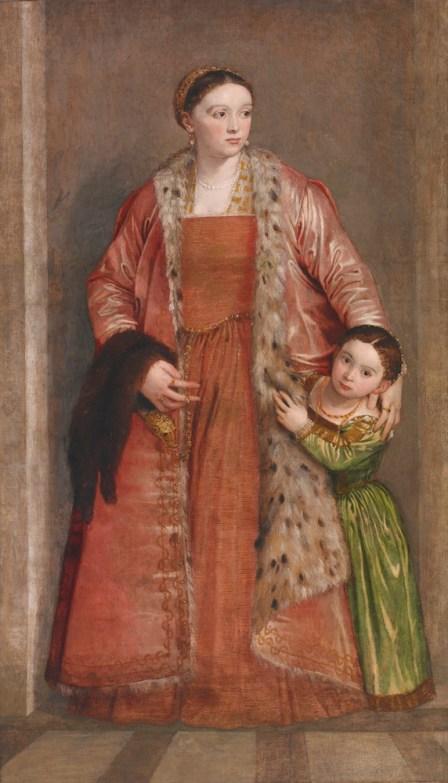 Paolo Veronese - Gravin Livia da Porto Thiene