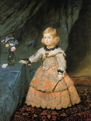 Diego Velazquez - Infante Margaretha Theresia