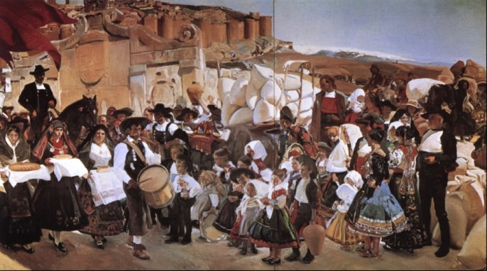Castilië: La fiesta del pan