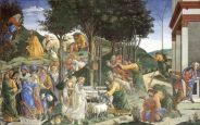 Sandro Botticelli - de Werken van Mozes