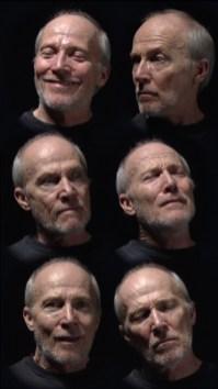 Bill Viola - Six heads