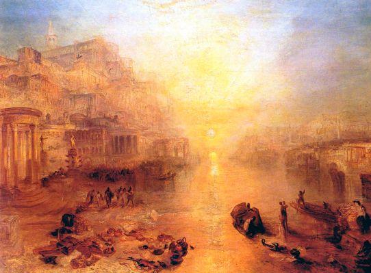Joseph Mallord William Turner - Ovidius verbannen uit Rome