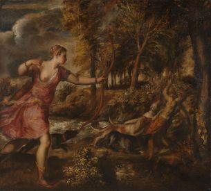 Titiaan - de Dood van Actaeon