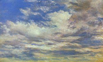 John Constable - Clouds (sketch)