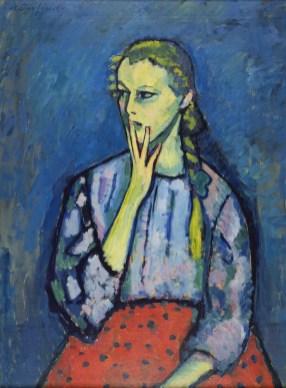 Alexej von Jawlensky - Portret van een meisje