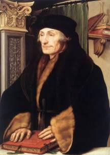 Hans Holbein - Desiderius Erasmus