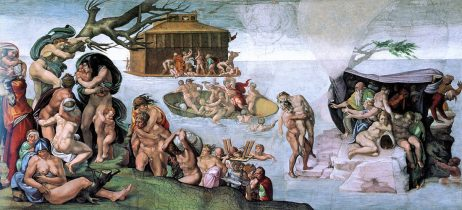 Michelangelo - Noach en de Vloed