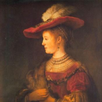 Rembrandt & Saskia - Fries Museum