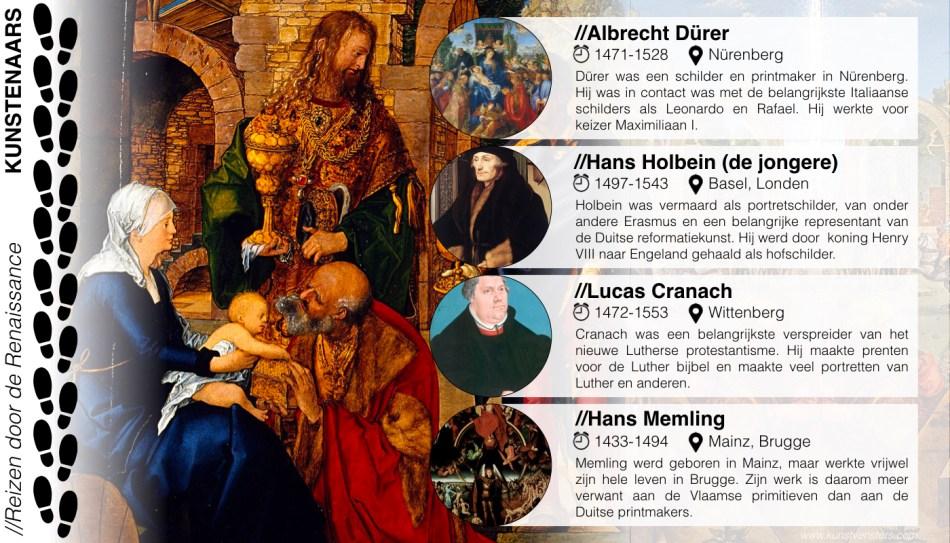 Renaissance - Dürer Memling Cranach Holbein
