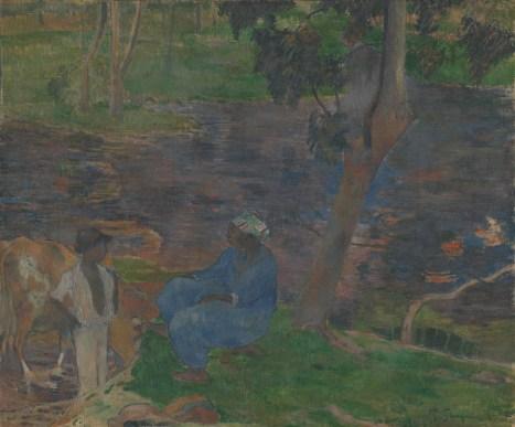 Paul Gauguin - Aan de oever van de rivier