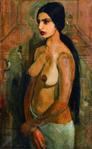 Amrita Sher-Gil - Self-Portrait as a Tahitian, 1934