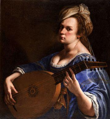 Artemisia Gentileschi - Zelfportret