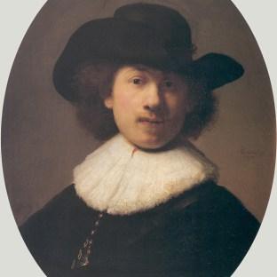 Rembrandt - Zelfportret (1632)