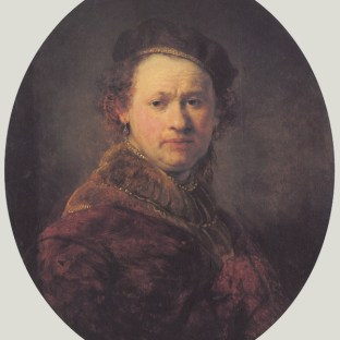 Rembrandt - Zelfportret (1645)