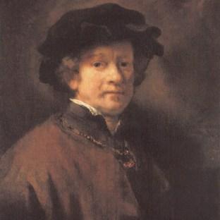 Rembrandt - Zelfportret (1654)