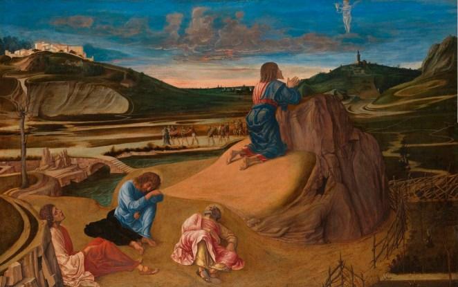 Giovanni Bellini - Doodsangst in Getsemane