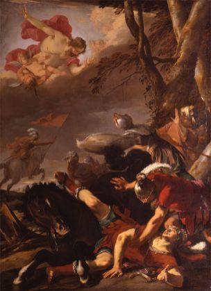 Laurent de la Hyre - Bekering van St Paulus
