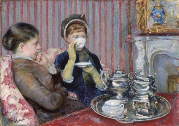 Mary Cassatt - Tea time