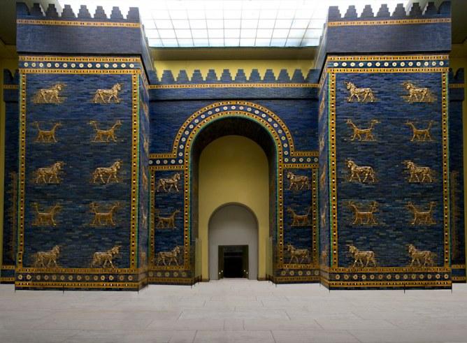 Ishtarpoort in het Pergamon Museum
