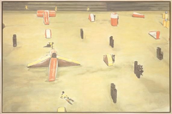 Luc Tuymans - Mayhem (2003) Hall Collection