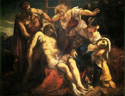 Jacopo Tintoretto - de Bewening van Christus