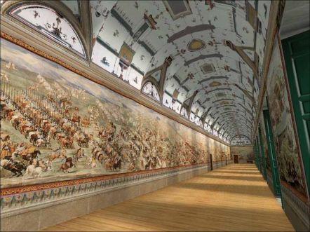 Galerij van de Veldslagen in El Escorial