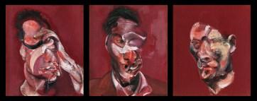 Francis Bacon - Drie Studies van Lucian Freud