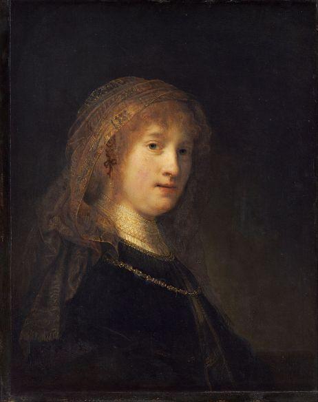 Rembrandt van Rijn - Saskia van Uylenburgh