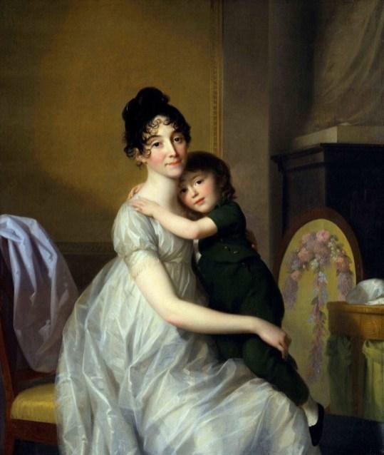 Johann Friedrich August Tischbein - Anne Pauline Dufour-Feronce