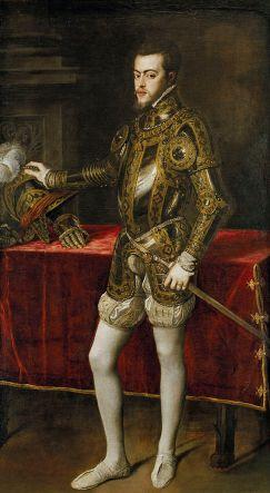 Titiaan - Portret van Filips II