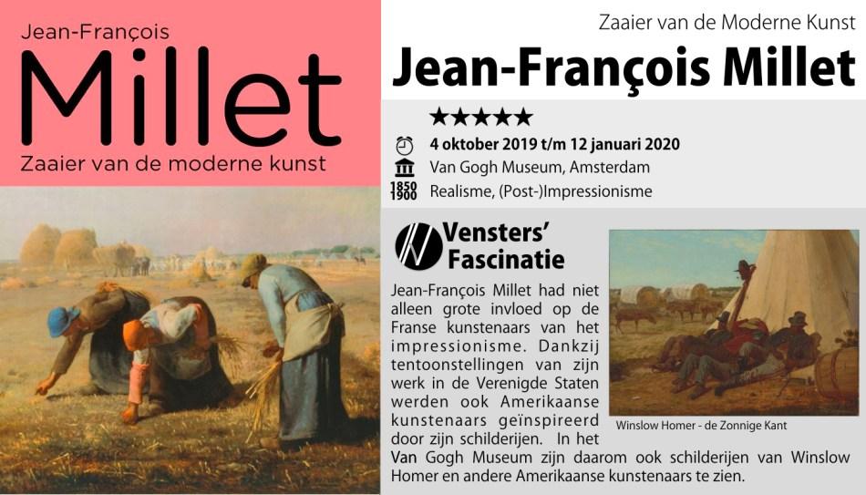 Van Gogh Museum - Millet zaaier van het modernisme