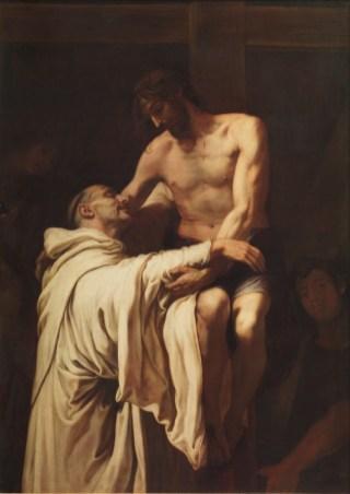 Francisco Ribalta - Christus omarmt St Bernardus