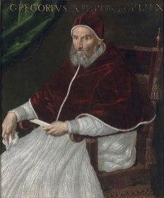 Lavinia Fontana - Paus Gregorius XIII