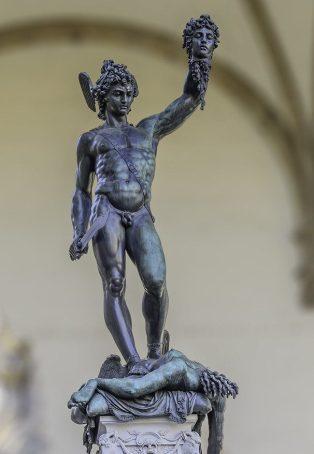 Benvenuto Cellini - Perseus met het hoofd van Medusa
