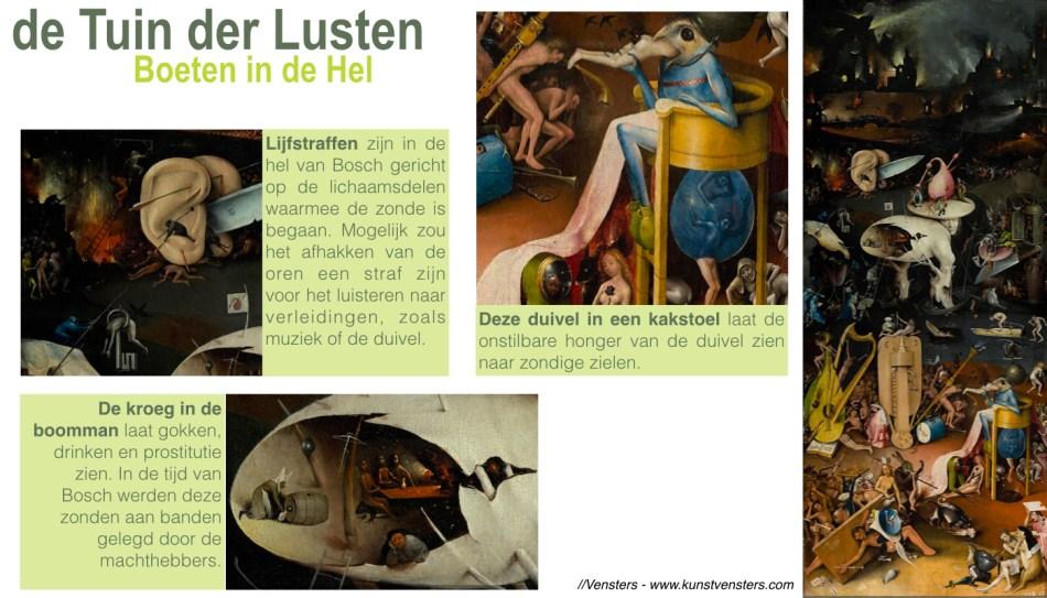 Tuin der Lusten - Bosch - Hel