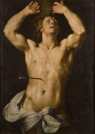 Cornelis van Haarlem - Sint Sebastiaan