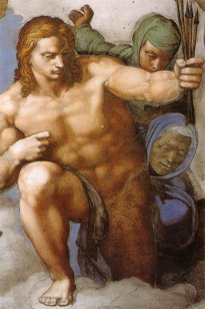 Michelangelo - Sint Sebastiaan