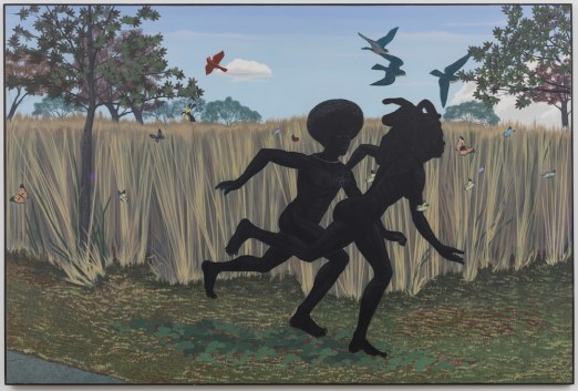 Kerry James Marshall, Vignette, 2003, Defares Collection © Kerry James Marshall. Courtesy of the artist and Jack Shainman Gallery, New York