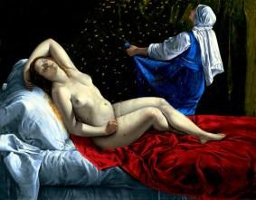 Artemisia Gentileschi - Danaë