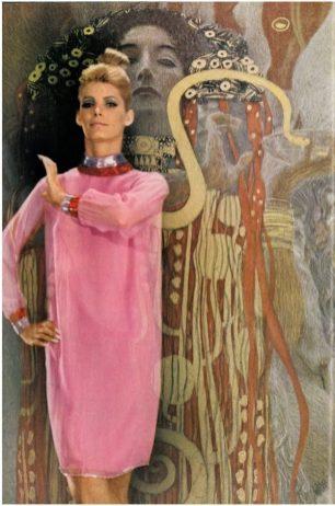 Norman Parkinson - Klimt revisited