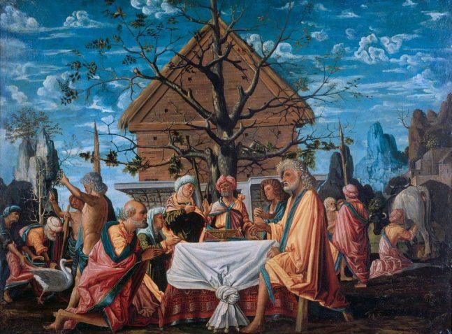 Bramantino - Philemon en Baucis