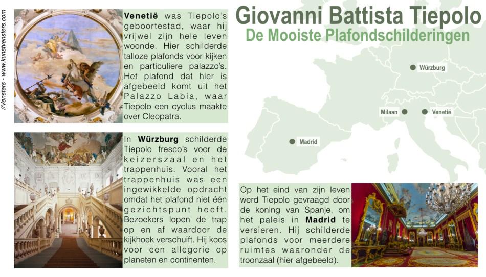 Plafonds Giovanni Battista Tiepolo