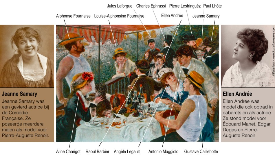 Pierre Auguste Renoir Jeanne Samary Ellen Andrée