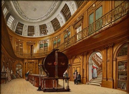 Wybrand Hendriks - De Ovale Zaal van het Teylers Museum