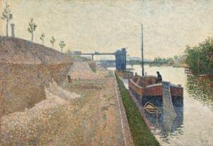 Paul Signac - Quai de Clichy