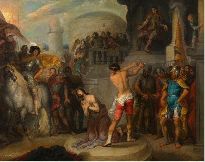 Simon de Vos - Onthoofding van Paulus