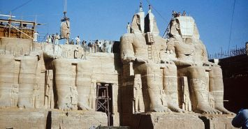 Abu Simbel Temples Relocation Project Facts, Egypt Tours Portal