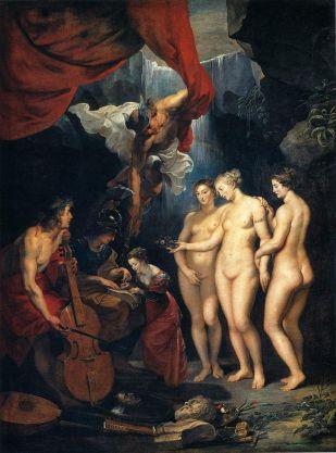 Peter Paul Rubens - Onderwijs aan Maria de Medici