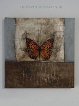 Schilderij Vlinder Kado Kunst