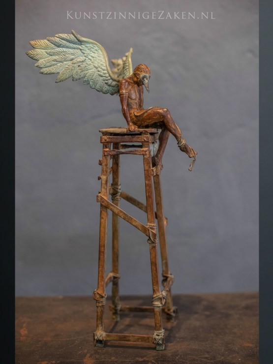 Daedalus bronzen beeld